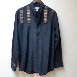 vintage black southwest shirt